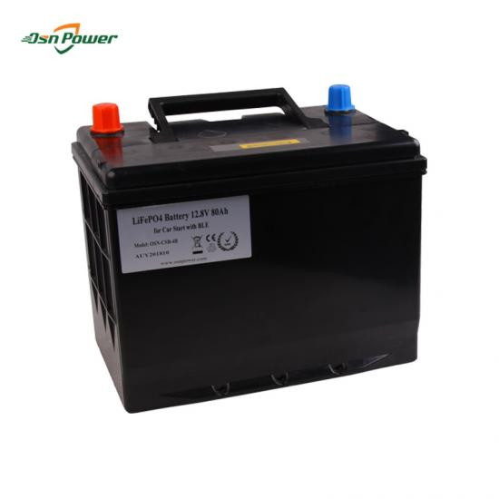 12V starter battery  Lithium Iron Phosphate (LFP) pack