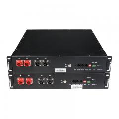World Rack Mount 2.5KWH 5KWH 10KWH 15KWH 20KWH 48V 50Ah  Solar Battery With RS232 RS485 Market Leader