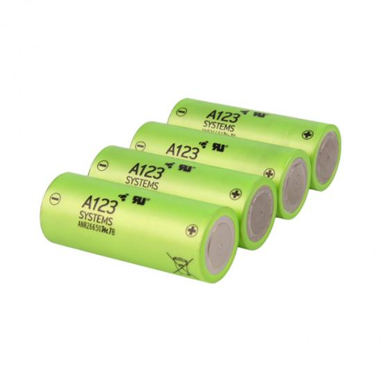 LifePO4 battery 3.2V 2.5Ah cylindrical lithium battery