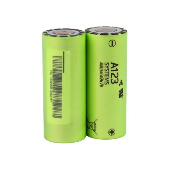 lithium battery 3.2V 2.5Ah A123 Lifepo4 cell
