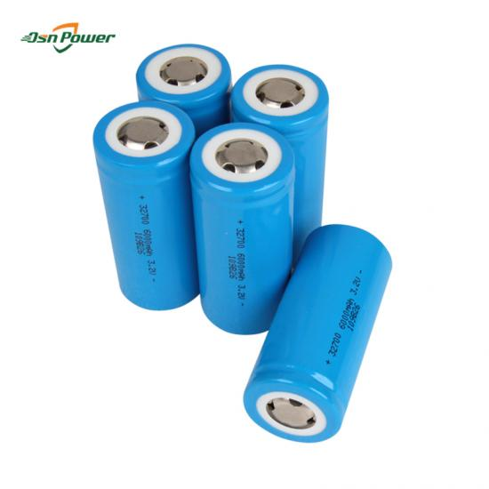 32700 lithium battery 3.2v 5Ah 6Ah Lifepo4 Cell